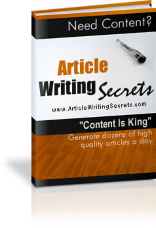 Product picture Powerhouse Article Writing Secrets that REALLY Make Money!